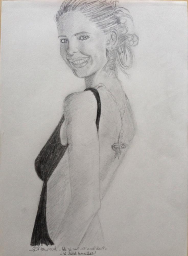 Sarah Michelle Gellar by joey7lindley